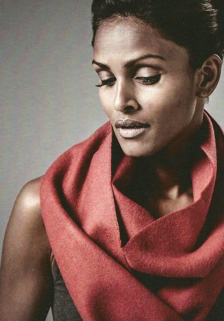 Schal aus Merino-Wolle
